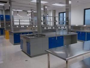 全钢实验台(不锈钢台面)